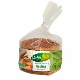 Gaufres sans gluten au caramel BIO - VALPIBIO (170g)