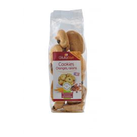Cookies orange-raisin sans gluten - GLUTABYE (150g) lppr 1.91€